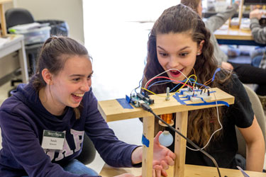 Explore Engineering Weekend for High School Girls