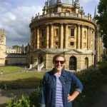 Emily Dodson at Radcliffe Camera