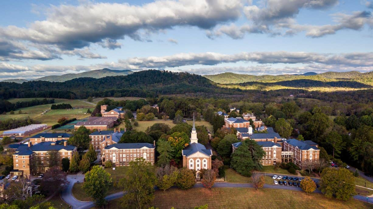 Sweet Briar College, main campus