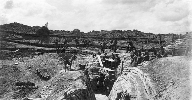 World-War-I-trenches-in-Belgium
