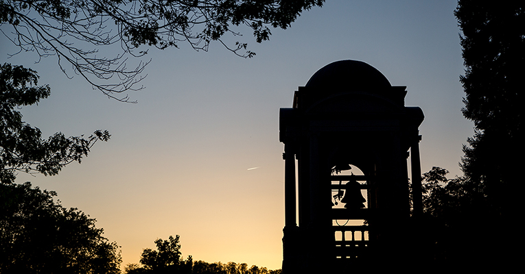 Bell tower night