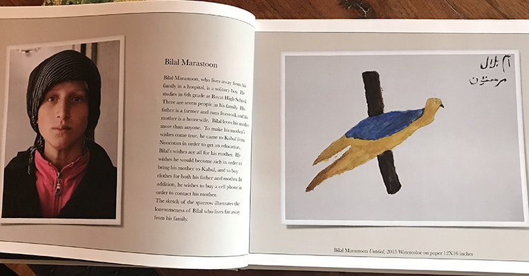 Art from catalog with bird