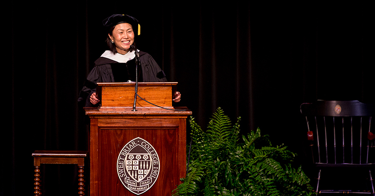 Meredith Woo-convocation