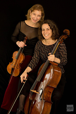 Elizabeth Field (left) and Stephanie Vial, of The Vivaldi Project