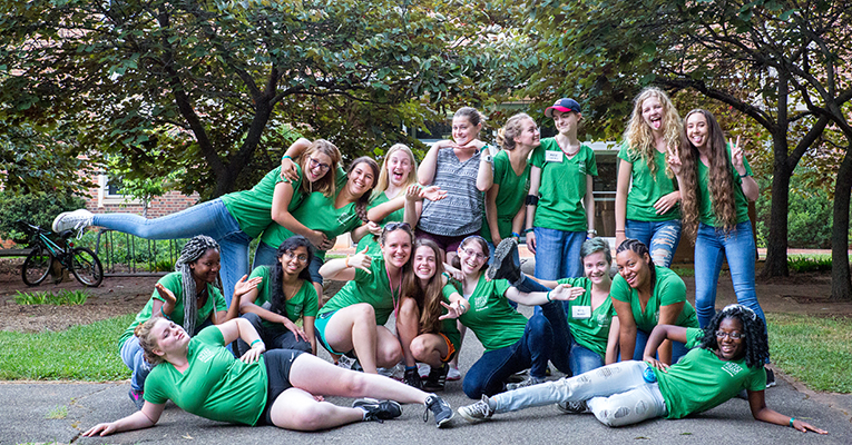 Students from around the country had a blast at Sweet Briar's annual Explore Engineering camp.
