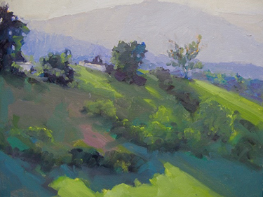 "Gray Dodson, ""Late Afternoon,"" oil, 11 x 14 inches"