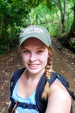 Rueger on day hike in southern Costa Rica in August 2016