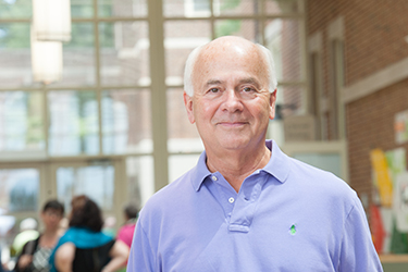 Prof. Jim Alouf came to Sweet Briar in 1982 and returned from retirement last summer.