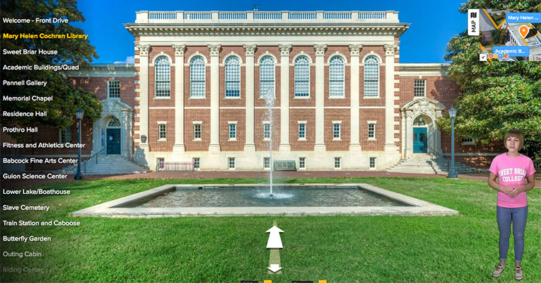 Sweet Briar's Mary Helen Cochran Library is always worth a visit — whether in person or virtually!