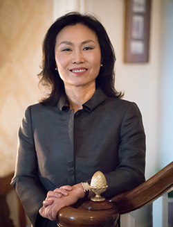 Meredith Woo will take office as Sweet Briar's 13th president on May 15.