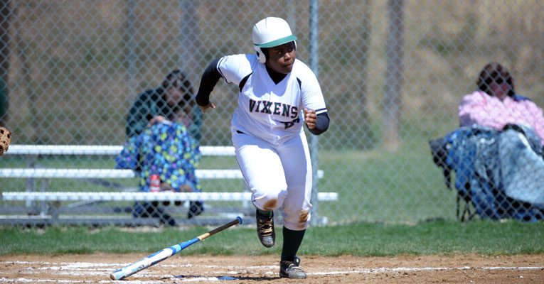 Nene Jones '16, a two-sport student-athlete, is headed for first — and to San Antonio in January to attend the 2016 NCAA Convention, thanks to a Division III grant program. Photo by Pete Emerson.