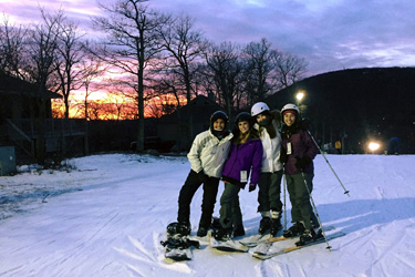 Skiing at Wintergreen Resort