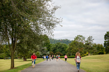 Sweet Briar Students on Campus